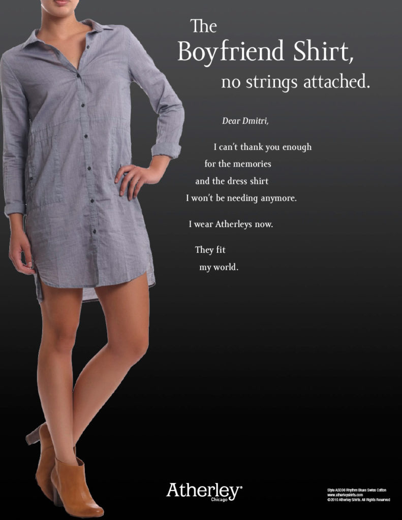 Atherley print ad